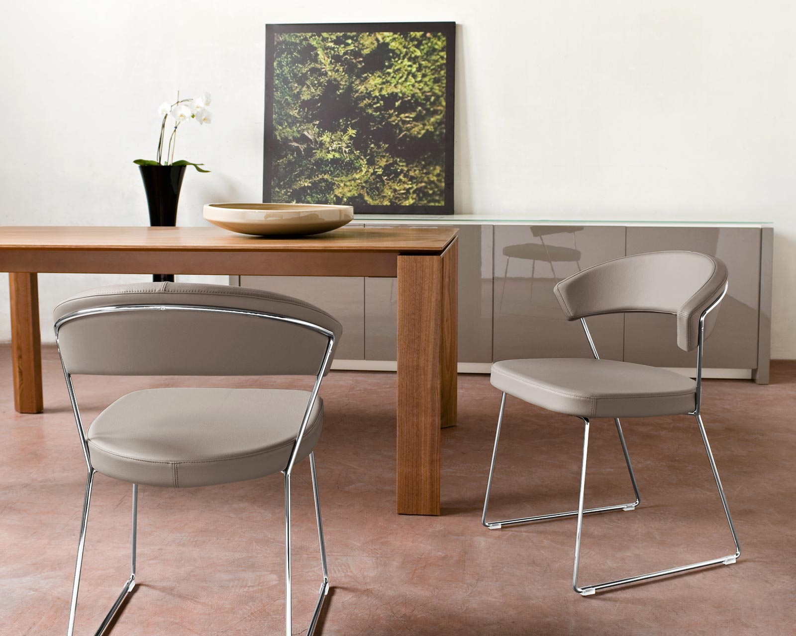 New york chair the most comfortable dining chair ever for Calligaris new york